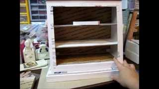 Apothecary Display Cabinet - Tutorial Part 5