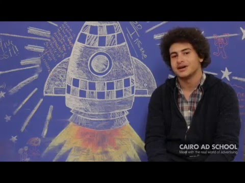 Cairo Ad School student review / Gasser