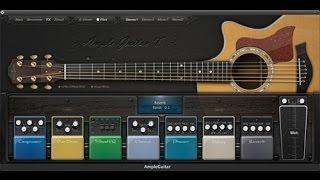 Hướng dẫn sử dụng Ample Guitar (Ví dụ trên AGT)