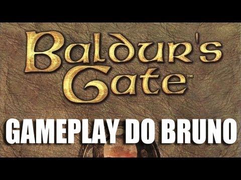 O Melhor RPG para PC? - Baldur´s Gate 2 - Gameplay do Bruno