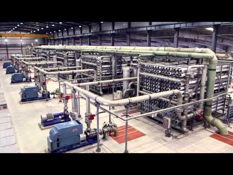 Aqualyng Caofeidian SWRO Desalination Plant Video - English