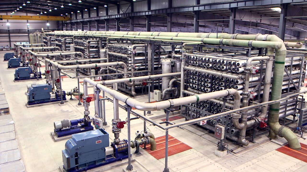 Aqualyng Caofeidian SWRO Desalination Plant Video English