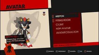Sonic Forces - Creating Shadow the Hedgehog (Hedgehog Avatar)