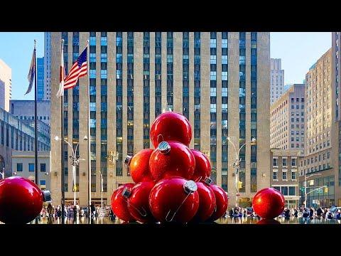 NEW YORK CITY 2019: CHRISTMAS DAY! [4K]