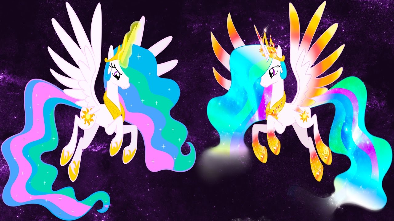 My Little Pony Transforms Mane 6 Princess Luna Celestia