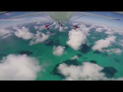 C182 Bahamas - compilation of 8 days of flying in the Bahamas
