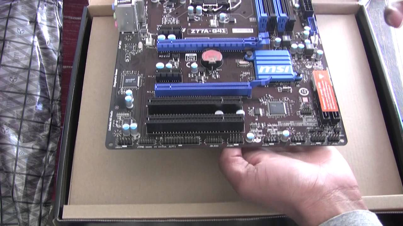 Download Driver: MSI Z77A-G41 Intel USB 3.0