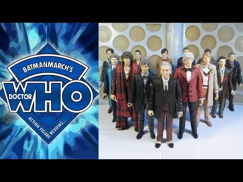 Doctor Who Action Figure Review: The 13 Doctors Set (Toys R Us Exclusive)