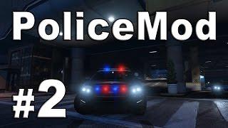 GTA V Awesome Police Mod #2 - Police Pursuit and Shooting [HD]