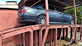 BMW E39 заливаю дешевое масло ! Развалилась подвеска ...