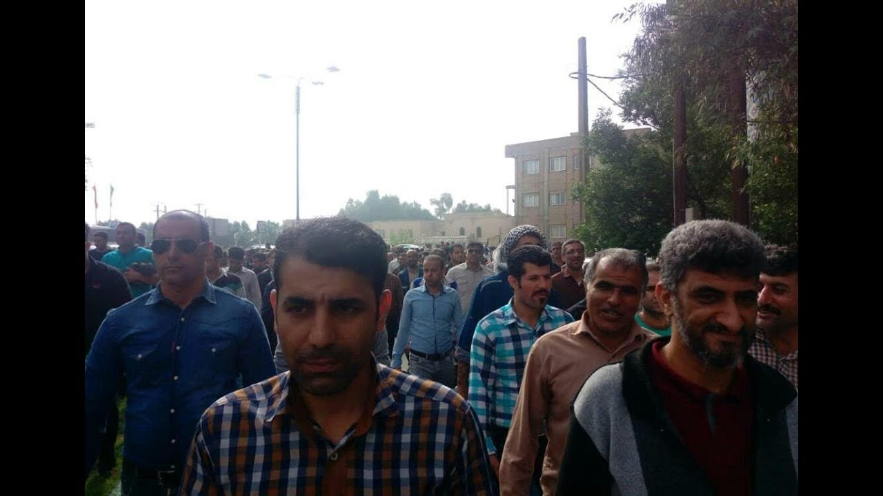 Iran: The 9th Day of the Strike of the Ahvaz National Industrial Steel Group