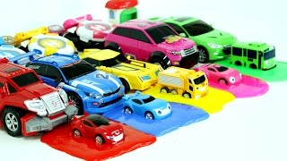 Transformers Carbot  Tobot Watch Car 5 Color Slime Monster Car Toys 헬로카봇 와치카 미니특공대 또봇 액체괴물 5색 장난감