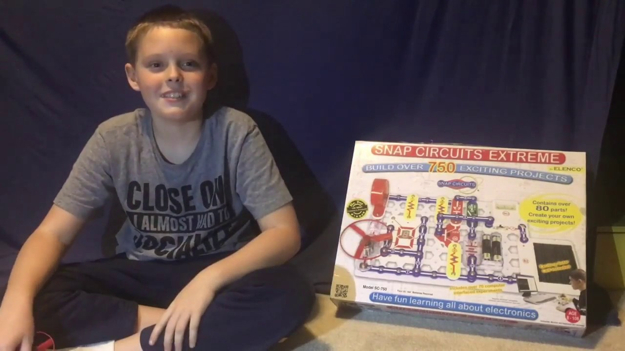 Snap Circuits Extreme Electric Light Switch Project 1 Youtube Sc 750