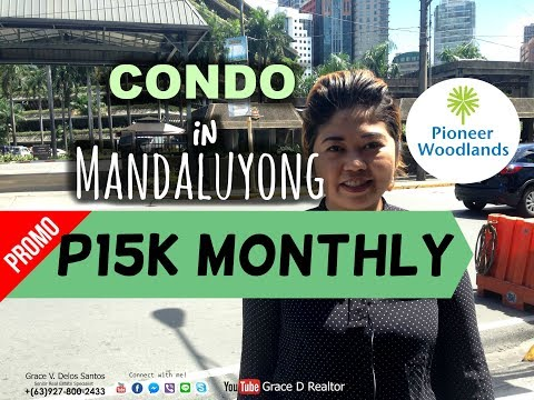CONDO in Mandaluyong FULL VIDEO TOUR! Location, Actual Units, Model Units! - Pioneer Woodlands