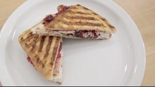 Turkey Panini | Thanksgiving Leftovers Recipe