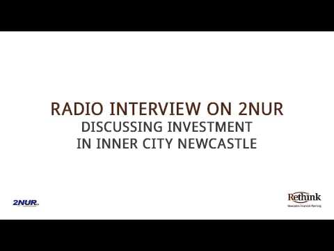 2NUR Radio Interview Inner Newcastle