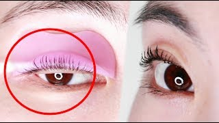 진짜로 효과가 엄청난 셀프 속눈썹 펌 꿀팁 영상 | K Beauty | Self eyelash perm tutorial