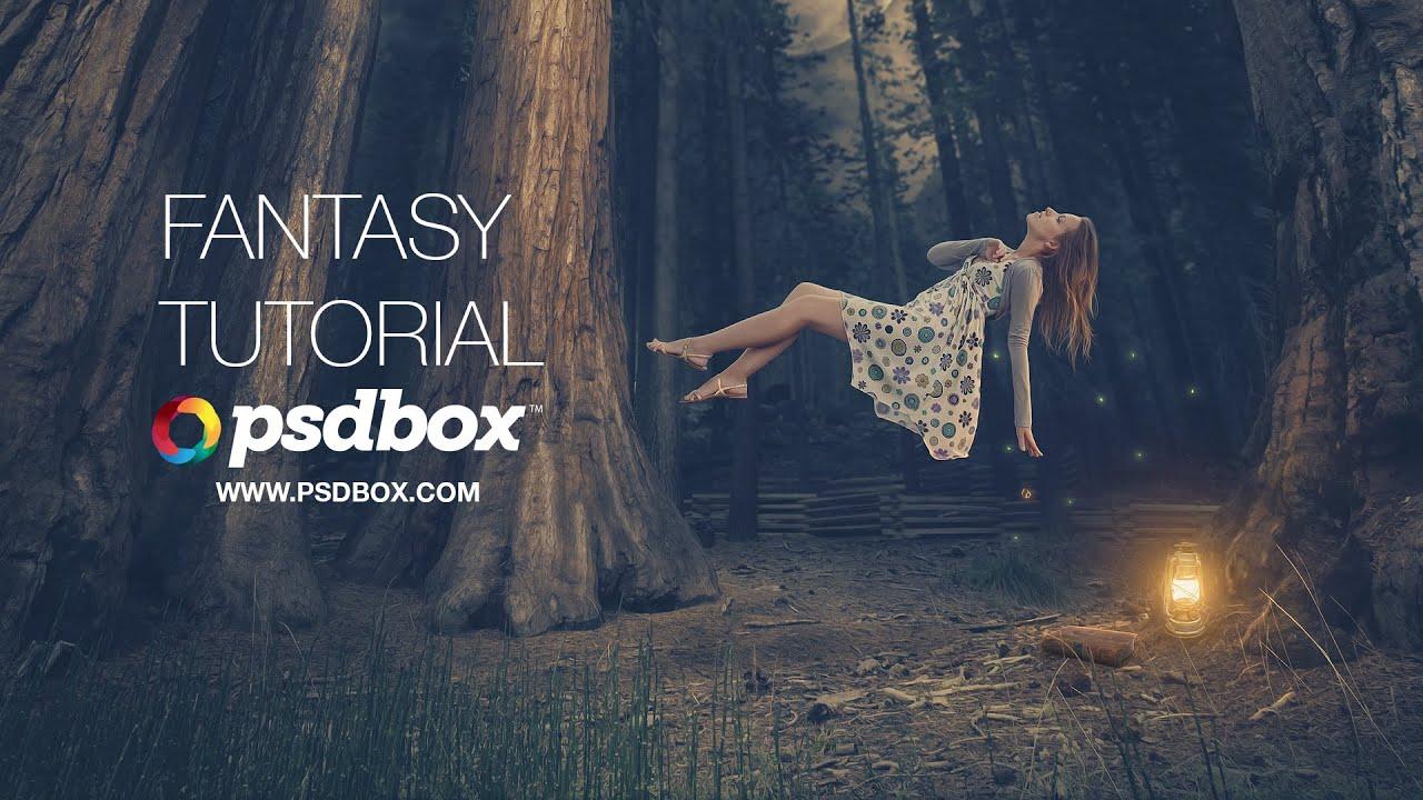 Fantasy Photoshop Manipulation Dreamy Effect - PHOTOSHOP ...
