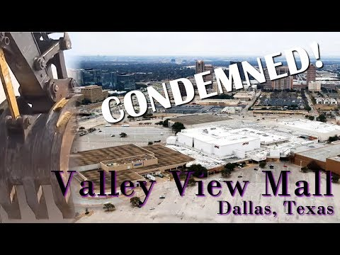 This mall shouldn't even exist! Valley View Mall in Dallas, Texas - R.I.P. Retail