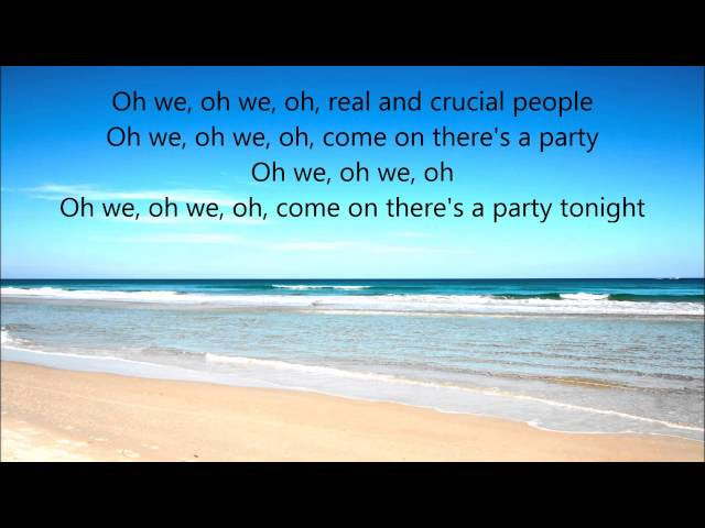 Lyrics to sex on the beach