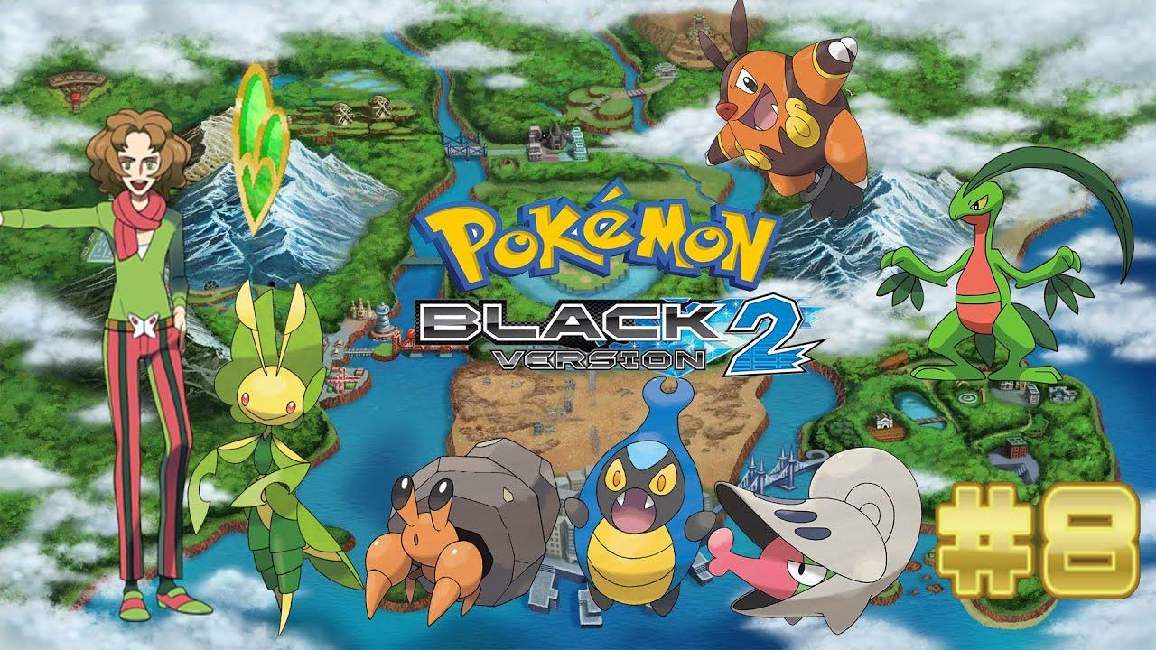 Pokemon Black 2 - Part 8: Burgh and Evolution's! (Starters ...