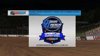 Down Under Graphics Sprintcar Summer Series - Round 1
