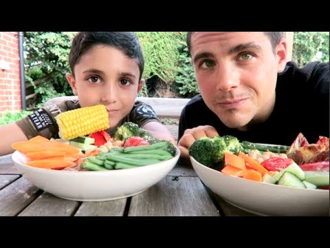 WHAT MY VEGAN SON & I EAT IN A DAY ☘️ 💙