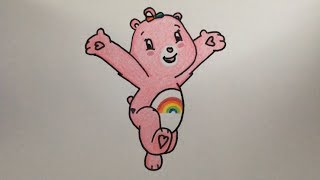 How To Draw A Care Bear Step By Step