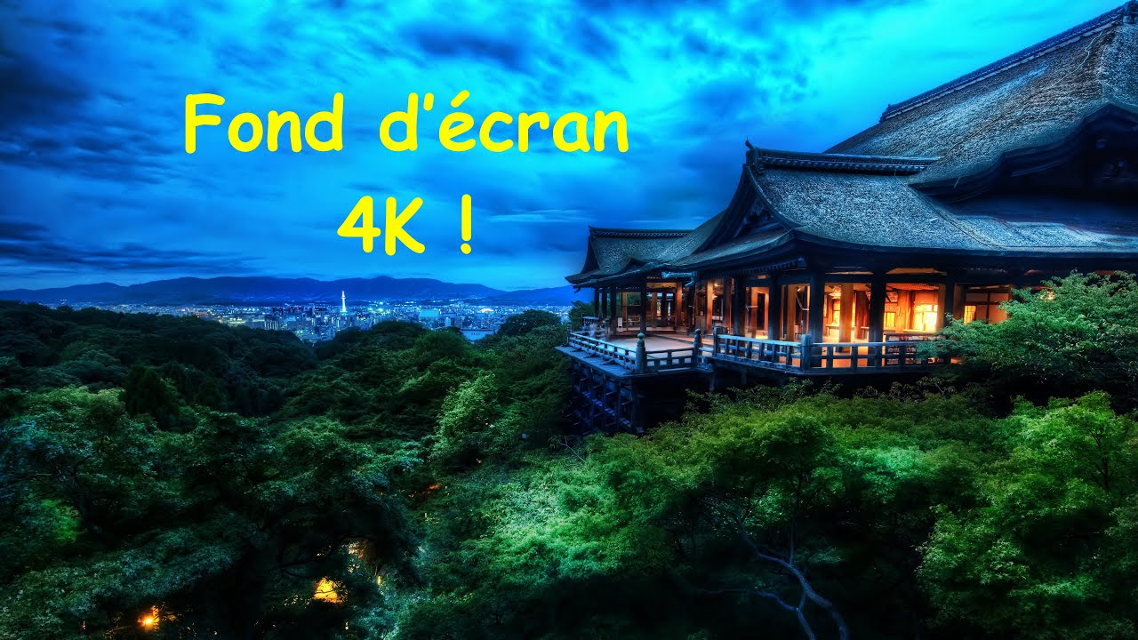 Top 6 Fonds Ecran 4k