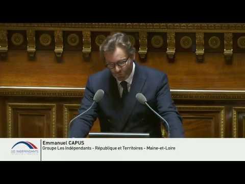 Emmanuel CAPUS : Explications de vote du Projet de loi de Finances pour 2020