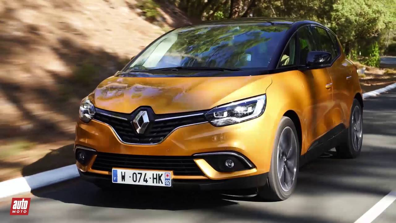 2016 renault scenic 4 essai notre avis au volant subtitles test drive youtube. Black Bedroom Furniture Sets. Home Design Ideas