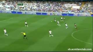 Andrea Poli amazing skills vs Valencia 27\\7\\2013