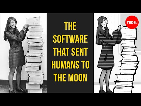 Video image: How one woman put man on the moon - Matt Porter and Margaret Hamilton