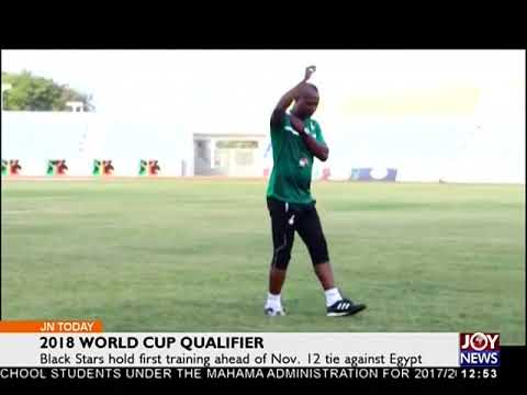 2018 World Cup Qualifier- Joy Sports Today (8-11-17)