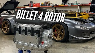 homepage tile video photo for Unboxing one of the world's MOST expensive engines! BILLET 4 Rotor Drivetrain