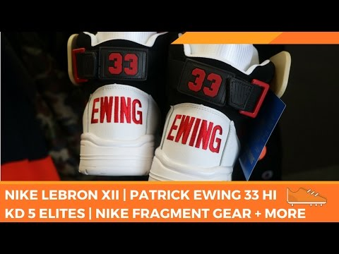 Ross Finds | Nike Fragment Jacket | Patrick Ewing 33 + More