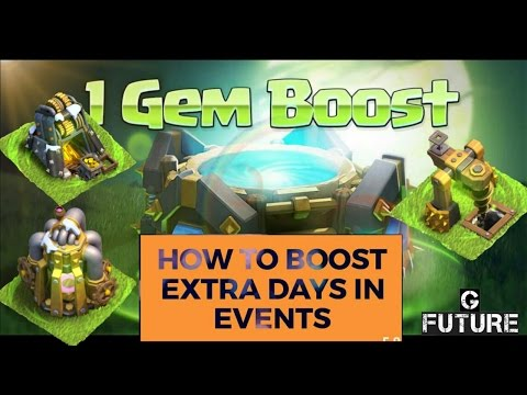 How To Boost Resource Collectors Extra Times In EVENTS ||| CLASH Of CLANS