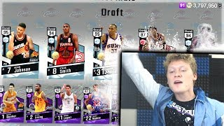 THE MOST STACKED PACKS DRAFT! FINAL NBA 2K17 DRAFT!?
