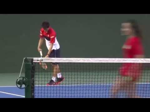 Michael Chang & Kei Nishikori ④ Doubles Exhibition 2015
