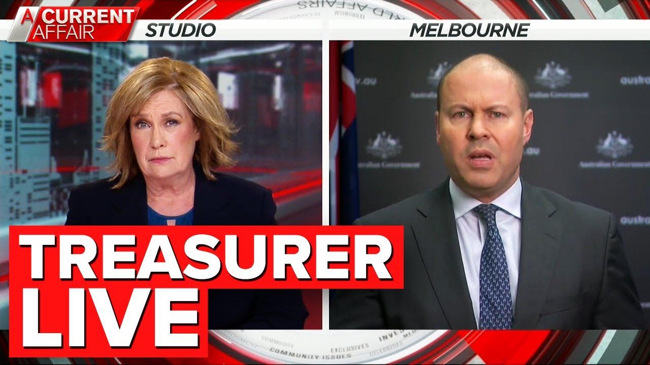 Treasurer Frydenberg discusses unemployment, JobKeeper changes | A Current Affair