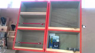 Easy wall-mounted storage cabinet Part2