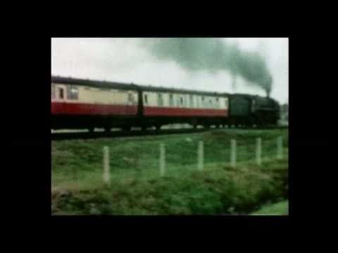 8mm Cine British Railways Steam clips from the 1950s and 1960s in colour *NO SOUND*