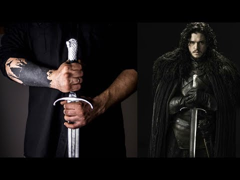 DIY Jon Snow's Longclaw from Game of Thrones (No Forge) - Under 12 Hours!