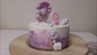 видео Сборка торта Kagat Cake