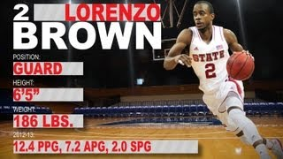 Official Highlights 2013 NBA Draft | Lorenzo Brown - NC State | ACCDigitalNetwork