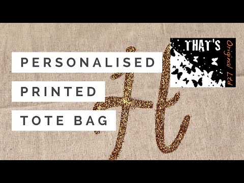 Personalised Printed Tote Bag | Hobbycraft