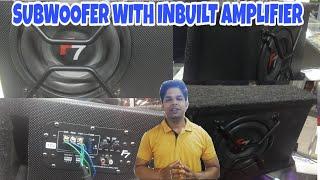 || F7 Subwoofer with Inbuilt Amplifier ||