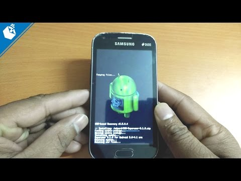 Root Samsung Galaxy S Duos GT S7562