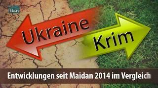 Ukraine und Krim im Vergleich