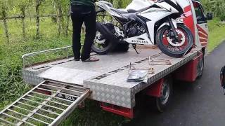 welcome home all new cbr 150 r revolution white